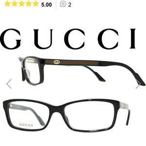 Gucci GG 3181 29A Unisex Rectangle Eyeglasses
